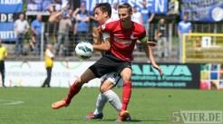 20120804 SC Freiburg II - Eintracht Trier, Regionalliga Südwest, Pagenburg, Foto: Anna Lena Grasmueck - 5VIER