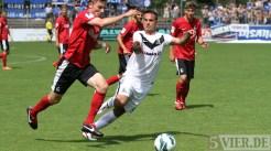 20120804 SC Freiburg II - Eintracht Trier, Regionalliga Süˆdwest, Baldo Di Gregorio, Foto: Anna Lena Grasmueck - 5VIER