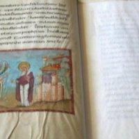 Neuer Einband für den Codex Egberti