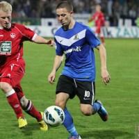 20121019 Eintracht Trier - FCKII, Regionalliga Suedwest, Abelski, Foto: Anna Lena Grasmueck - 5VIER