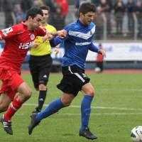 20121124 Eintracht Trier - Pfullendorf, Regionalliga Suedwest, Klinger, Foto: www.5vier.de - 5VIER