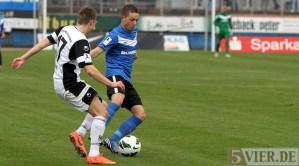 20121104 Eintracht Trier - SSV Ulm, Regionalliga Suedwest, Abelski, Foto: Anna Lena Grasmueck, www.5vier.de - 5VIER