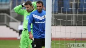 20121104 Eintracht Trier - SSV Ulm, Regionalliga Suedwest, Baldo di Gregorio, Foto: Anna Lena Grasmueck, www.5vier.de - 5VIER
