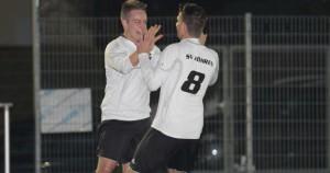 Nicola Weyer, SV Föhren, Bezirksliga. Foto: Sebastian Schwarz