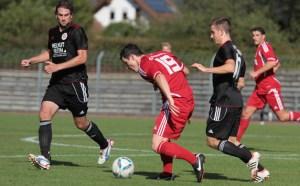 Der FSV Salmrohr empfängt im Spitzenspiel der Oberliga den SVN Zweibrücken (Foto: Sebastian Schwarz)