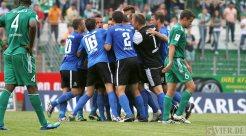 20120814 FC Homburg - Eintracht Trier, Regionalliga Suedwest, Foto: Anna Lena Grasmueck - 5VIER
