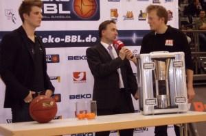 Pokalauslosung Basketball, TBB Trier. Foto: Florian Schlecht - 5VIER