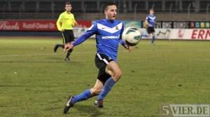 20130306 Eintracht Trier - Freiburg II, Regionalliga Suedwest, Yesilyurt, Foto: www.5vier.de - 5VIER
