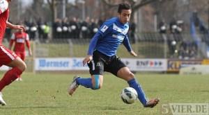 Tritt er in dieser Spielzeit noch einmal für Trier gegen den Ball? Chhunly Pagenburg (Foto: 5vier.de)
