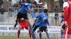 20130310 Worms - Eintracht Trier, Regionalliga Suedwest, Kopfball Anton, Foto: www.5vier.de - 5VIER