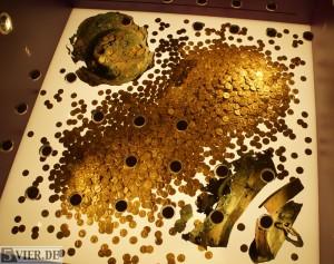 So sehen 18,5 Kilo pures Gold aus. Foto: Lars Eggers
