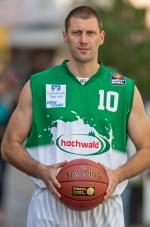 Bestritt sein letztes von 68 Spielen im TBB-Dress: Dragan Dojcin beendet seine Karriere. Archiv-Foto: Thewalt