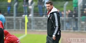 Salmrohrs Trainer Patrick Klyk. Foto: 5vier.de