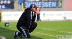 20130811 Zweibruecken - Eintracht Trier, Rubeck, Regionalliga Suedwest, Trainer Zweibrücken Peter Rubeck, Foto: www.5vier.de - 5VIER