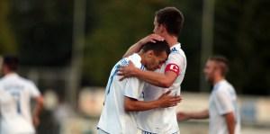 SV Mehring-FK Pirmasens, Michael Fleck, Christoph Eifel. Foto: Sebastian Schwarz