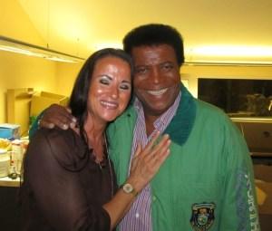 Zwei gute Bekannte: Shirley Winter und Roberto Blanco