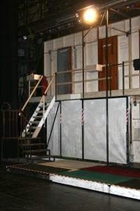 """Die """"Bühne"""" hinter der Bühne"""