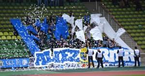 KSV Baunatal-Eintracht Trier. Fans.