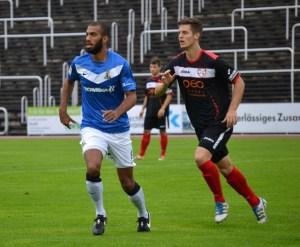 KSV Baunatal-Eintracht Trier. Sylvano Comvalius
