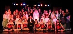 Das Ensemble des Tufa-Musicals