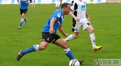 20131012 SSV Ulm - Eintracht Trier, Regionalliga Suedwest, Brighache, Foto:www.5vier.de - 5VIER