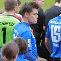Eintracht Trier gegen SgVgg Neckarelz, Matthias Cuntz, Foto: 5vier.der - 5VIER