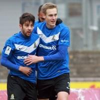 Eintracht Trier gegen Neckarelz - featured Anton und Bender - 5VIER