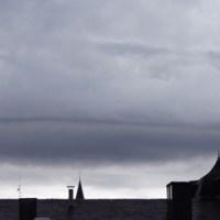 Unwetter über Trier
