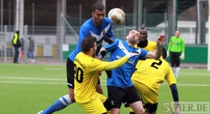 20140215 Testspiel Neunkirchen - Eintracht Trier, Comvalius, Kuduzovic, Foto: 5vier.de - 5VIER
