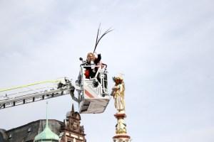 Der Karneval ist in Trier angekommen.
