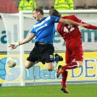 20140228 Kaiserslautern II - Eintracht Trier, Regionalliga Suedwest, Dingels, Foto: 5vier.de - 5VIER