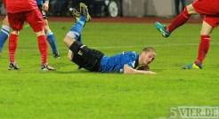 20140307 Eintracht Trier - SC Pfullendorf, Regionalliga Suedwest, Alon Abelski, Foto: www.5vier.de - 5VIER