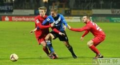20140307 Eintracht Trier - SC Pfullendorf, Regionalliga Suedwest, Foto: www.5vier.de - 5VIER