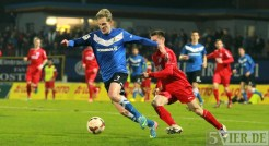 20140307 Eintracht Trier - SC Pfullendorf, Regionalliga Suedwest, Bender, Foto: www.5vier.de - 5VIER