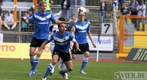 20140412 Eintracht Trier - SSV Ulm, Regionalliga Suedwest, foto: www.5vier.de - 5VIER
