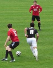 Ein turbulentes Spiel endet 3:2 für Salmrohr (Foto: Jan Herrmany)