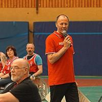 Organisator Günter Ewertz. Foto: Sandra Wagner