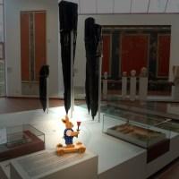 Hasensuche im Museum. Foto: Rheinisches Landesmuseum Trier, J. Lotz - 5VIER