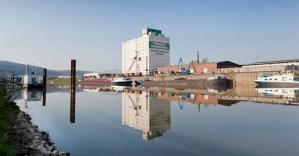 Der Trierer Hafen. Foto: phormat.de/Eike Dubois - 5VIER