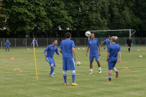 Eintracht Trier startet in Testspielwochenende
