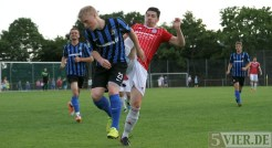 Testspiel Eintracht Trier gegen SG Ruwertal, Becker, Foto: 5vier.de - 5VIER