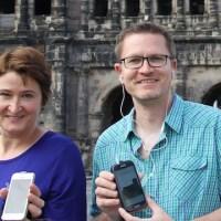 Ute-Schneider-Ludwig-und-Markus-Ludwig-aus-Trier-produzieren-audiovisuelle-App-Touren-für-die-Region. Foto: Markus Ludwig - 5VIER