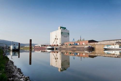 Der Trierer Hafen. Pressefoto: Eike Dubois