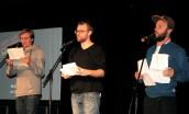 Bottermelk Fresch. Auftritt mit Till Reiners in der TuFa Trier. Poetry Slam Landesmeisterschaft RLP 2014. Eröffnungsgala. - 5VIER