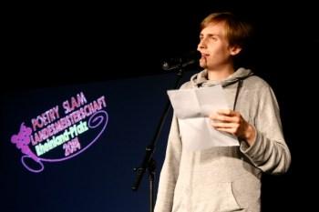 Till Reiners. TuFa Trier. Poetry Slam Landesmeisterschaft RLP 2014. Eröffnungsgala. - 5VIER