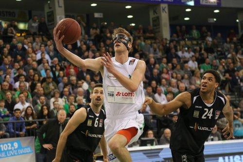 Mathis Mönninghoff spielte trotz Jochbeinbruchs wichtige Minuten. Foto: Thewalt