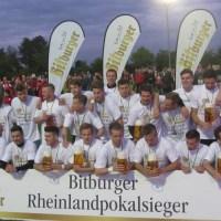 FSV Salmrohr: Pokalsieger 2015 (Foto: Jan Herrmany) - 5VIER