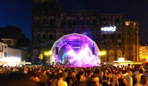 Bühne an der Porta Nigra