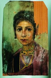 Abbildung: Mumienporträt einer jungen Frau, 96-117 n. Chr. © Stadtmuseum Simeonstift