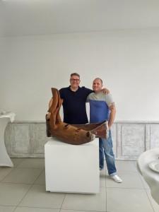 Andreas Hamacher und Laas Köhler